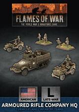 Flames of War BNIB Armoured Rifle Company HQ (Plastic) UBX74