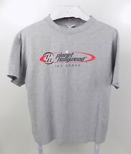 Planet Hollywood Las Vegas 2000 Short Sleeve Gray Tshirt Size Large