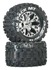 """New Duratrax Six Pack 2.8"""" Mounted Tires for Savage Flux DTXC3523"""
