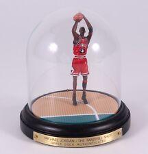 "Michael Jordan Bulls ""The Farewell Shot"" Authentic Hand-Painted Tribute Figurine"