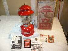 New Listing1974 Coleman 200A195 Lantern w/box & papers