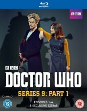 Doctor Who - Series 9 Part 1 [Blu-ray]  New SEASON NINE PART ONE Episodes 1 - 6