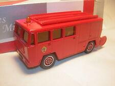 1/55  BERLIET Fourgon mixte  Camion Pompier    Solido             1/43 1/50