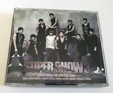 Super Junior The 3rd Asia Tour Super Show 3 Korea Press 2 CD Kpop K-pop
