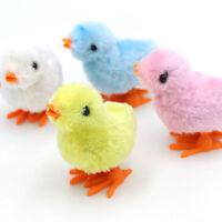 Fluffy Wind up Chicken Dance Clockwork Plush Chicken Fun Kids Toy new.