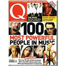 Q Magazine August 2004 MBox2563 100 Most Powerful People in Music The Hives Snow