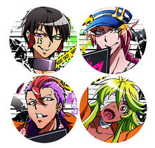 Nanbaka Anime Badge Button