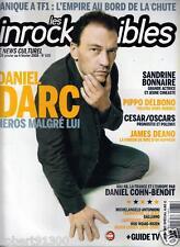 LES INROCKUPTIBLES 635../...DANIEL DARC....HEROS MALGRELUI.../.01 -2008