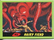 Mars Attacks Heritage Green Parallel Base Card #42    Hairy Fiend