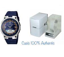 Reloj cronógrafo Casio artes de pesca Iluminador para hombre AW-82 -2 avdf Nuevo
