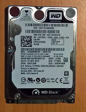 WESTERN DIGITAL WD5000BPKX Scorpio Black 500Go 16Mo Cache SATA 6Gb/s 2.5'