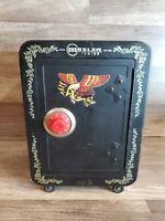 """Vintage Brumberger Toy Safe Bank 10"""" Tall Mosler Junior Combination"""