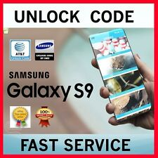 Unlock Code AT&T Galaxy Note 9 Galaxy S9 S9+ Plus Note 8 S8/+ S7 S6 J3 J6 A6 A8