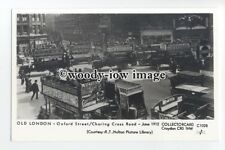 pp2208 - London - Oxford Street/Charing Cross Road, in 1912 - Pamlin postcard