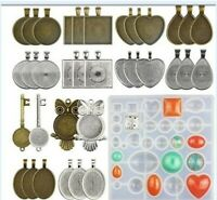 Silicone Mould Heart UV Resin Decor Crafts Mold Making Pendant Jewelry Bracelet