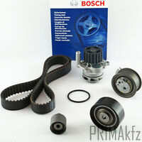 BOSCH Zahnriemen 1987949603 + Rollensatz + Wasserpumpe Audi Seat Skoda VW 2.0TDI