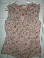 Boden Ladies Floral Top Size 8