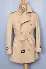 Mens BURBERRY Bespoke Short TRENCH Coat Mac UK/USA Beige 38/40 Medium