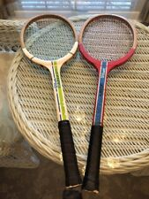 1970'S Wilson Chris Evert / Billiy Jean King Tennis Rackets Set