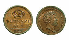 pci3271) Napoli Regno delle Due Sicilie Ferdinando II - 2  tornesi 1859