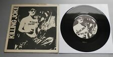 "Killing Joke - We Have Joy / Chop Chop UK 1981 DIY 7"" Single P/S"