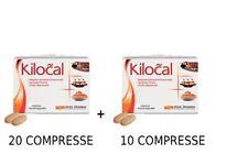 KILOCAL 20 COMPRESSE + KILOCAL 10COMPRESSE=TOTALE 30CPR -INTEGRATORE ALIMENTARE