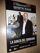 DVD N° 7 COMMISSARIO MONTALBANO LA DANZA DEL GABBIANO LUCA ZINGARETTI CAMILLERI
