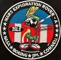 AUTHENTIC NASA JPL MARVIN THE MARTIAN PATCH MARS EXPLORATION ROVER SPACE MISSION