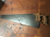 Antique Spear & Jackson Rip Saw Rare 1890's