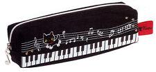 Kutsushita Nyanko San-X Federtasche schwarz Piano Cute Kawaii