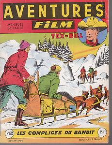 Aventures Film n°62 - Artima 1957- Très bel état
