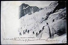FRANCE~1905 CHAMONIX~Ascension au Mont Blanc~ ALPS