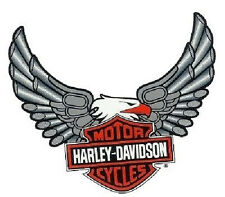 Harley Davidson Pegatina Windshield Adler Barra+Shield Eagle Adhesivo 19x20cm