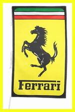FERRARI FLAG BANNER  ITALIAN STYLE car 5 X 3 FT 150 X 90 CM