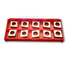 10Pc MC1204 Carbide Shim 80Deg. Rhombic for CNMG1204 Insert Turning Tool Holder