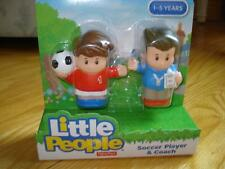 Fisher Price Little People SOCCER PLAYER & COACH