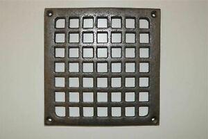 A fantastic square cast iron Victorian style grill SB1