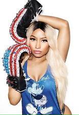 """069 Nicki Minaj - USA Rap HIPHOP SEX Star Great Singer 14""""x20"""" Poster"""