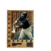 1998 Leaf Rookies & Stars True Blue Power Tools Tony Gwynn Parallel Card! HOF