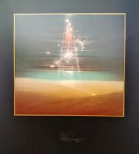 """Silkscreen, Hand signed and numbered, Andreas Nottebohm, """"Traces of the Elements"""