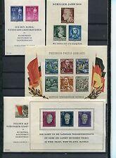 DDR - Blocklot ** aus 1955 - 1958 - KW  196,-- € ( 38328 )