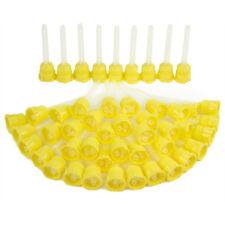 5  x Dental Yellow HP Mixing Tips - 4.2 mm  - Light Body - (48PCS/Bag)-MIX PAC