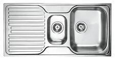 Teka Princess 1½C 1E MT Edelstahl Spüle Küchenspüle Einbauspüle Spülbecken Küche