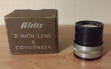 Vintage Aldis Anastigmat 2 Inch f/2.8 Star Lens * Condenser BOXED ** RARE