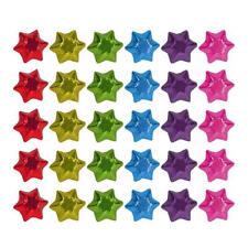 100 IN CADBURY CHOCOLATE STARS-RAINBOW COLOURS-KIDS BIRTHDAY PARTIES CHRISTMAS