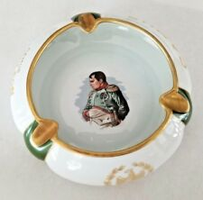 CAMUS Napoleon Cognac Cigar Ashtray Porcelaine De Luxe France Rare Circa 1940