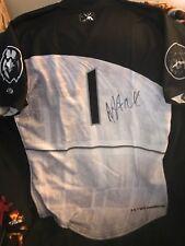 Baltimore Orioles Adam Hall signed game used/worn Ironbirds jersey