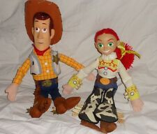 Disney Store Lot Exclusive Toy Story Woody Head Jessie Yarn Hair 14 inches