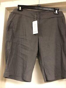 Eileen Fisher Walking Shorts 14