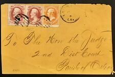 United States 6+6+15 Cents 1875 Rare Cover Quality